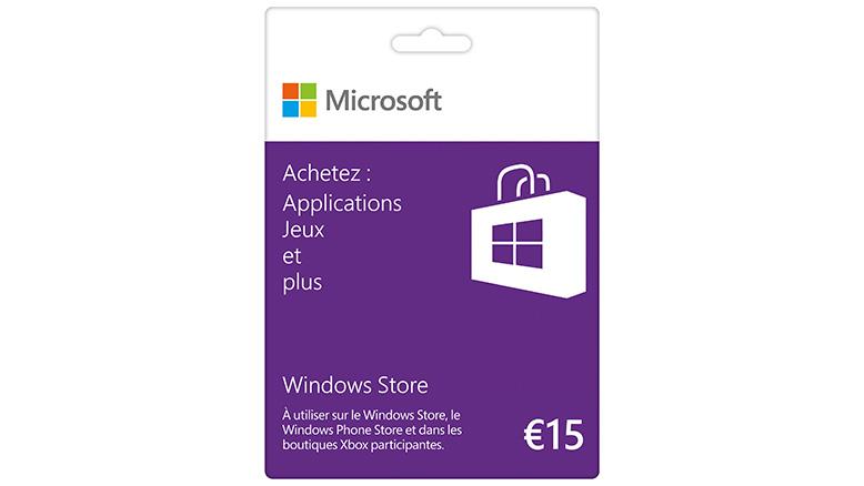 [CONCOURS BlocksNET] Carte Windows Store de 15 euros à gagner. Gift